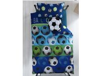 Football curtain and bedding