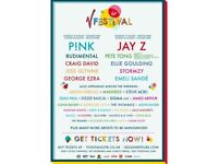 V Festival Weekend Ticket - Hylands Park