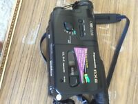 Wide lens video camera
