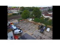 4500 Sq.ft. Yard to Rent in Slough - Gated Access - CCTV