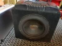 Db audio sub and alpine amp