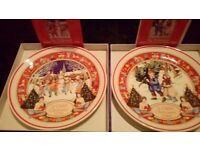 9 Collectable Wedgewood Plates, £100 for all