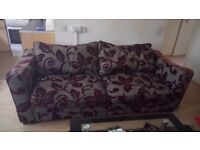Quality Large 3-4 seater sofa. Gd. Condition.