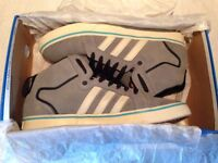 Adidas Superskate LV Mid Shoes Grey (Size 7)