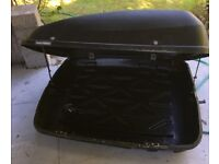 Halford Car roof box for sale