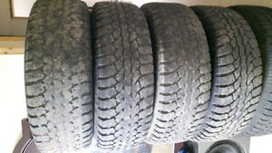 17 in' studded winter tires