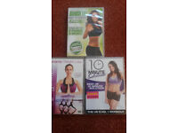 3x Fitness DVDs