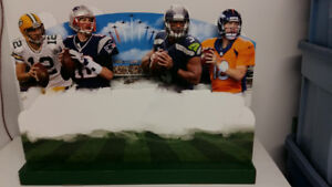 Superbowl XLVIII  3D CUTOUT Quarterbacks