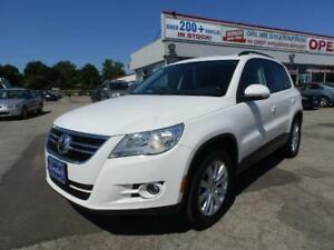2010 Volkswagen Tiguan AWD 2.0T PANORAMIC ROOF NO ACCIDENTS