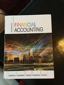 Mgt 2100 Financial Accounting 5th Canadian Edition