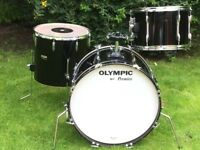 Drums - Vintage Premier Olympic Drum Kit - 1979 - Lovely Birch Shells - WILL SHIP - WILL SPLIT