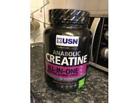 USN Anabolic Creatine powder 💪🏻