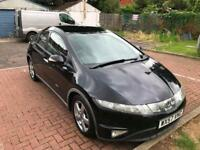 HONDA CIVIC 1.8i VTi 5dr (black) 2007