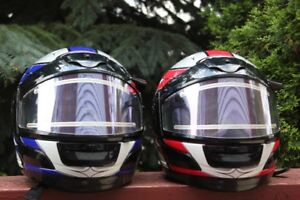 HELMETS Both Helmets For $60.00 (VIEW OTHER ADS)