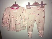 Beautiful Ted Baker baby girl outfit - aged 3-6 months - excellent condition