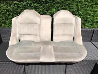 Audi coupe 80 rear back seats in grey cloth