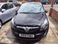 Vauxhall Corsa 1.2i 16V S 2014 Black