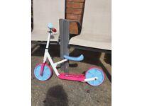 Children's scooter and balance bike
