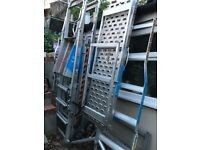 Zarges Profort Work Platform, Mobile Platforms Height 0.93m 4 Rungs for sale