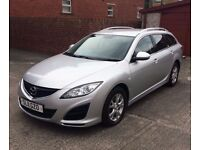MAZDA 6 TS 2.2 DIESEL ESTATE ONE PREVIOUS OWNER TESTED 12 MONTHS