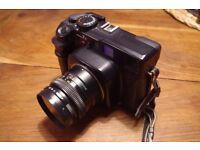 Mamiya 7ii with 80mm lens
