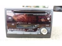 1998 Toyota Avensis CD stereo and cassette tape deck. RARE. RETRO