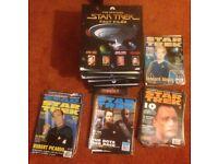 9 X Star Trek fact files & 37 Magazines