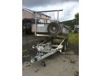 Ivor williams 8x5 electric / manual tipping traillor 2700 kg great condition first to see will buy