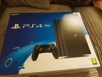 Ps4 pro 1tb boxed and sealed brand new