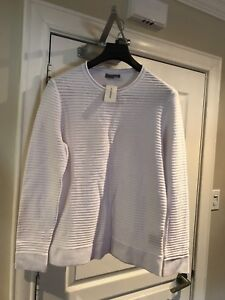 Men's ribbed sweater New with Tags