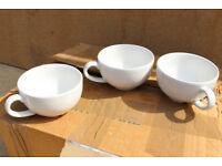 24 x Churchill super vitrified Cappuccino mugs cups