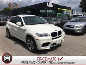 2014 BMW X6 M X6 M 555 HORSES WHITE ON BLACK LOADED