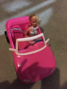 FS $8 Barbie car with Barbie