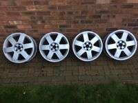 "Audi TT 8N Mk1 4 x 17"" Alloy Wheels"
