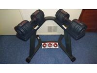 Weider SpeedWeight 100 Adjustable Dumbbell Set (Strength & Endurance Training) *Collection Only*