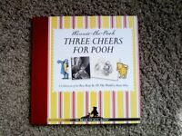 Winnie the Pooh – Three Cheers for Pooh Book