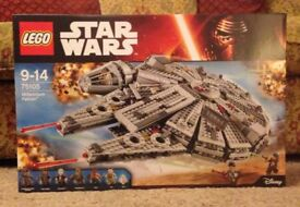 Lego Star Wars Millennium Falcon New