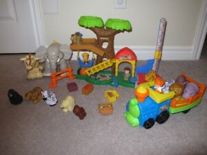 Little People Big Animal Zoo - excellent condition