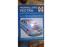 Vectra repair manual
