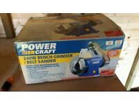 Bench grinder & belt sander