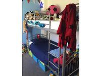 Metal Frame Single Bunk Beds