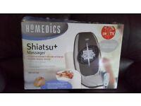 Homedics shiatsu+ massager