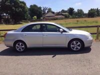 2003 Toyota Avensis 2,0 litre 5dr automatic 2 owners