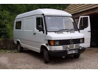 Mercedes 308D campervan // MOT + taxed