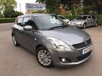 2013 SUZUKI SWIFT SZ4 1.2 AUTOMATIC 25500 MILES, PARKING SENSORS BLUETOOTH FINANCE £131 X 60 MONTHS,
