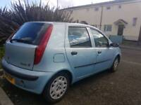 Fiat Punto 2002 Blue