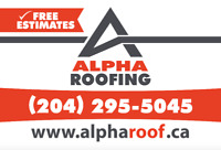 ROOFER LICENSED AND INSURED FREE ESTIMATES 204 295-5045
