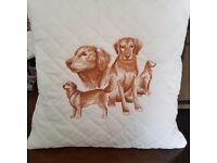 Dog breed cushions