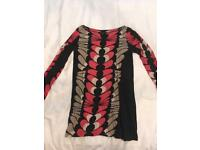 Size 12 French connection tunic top