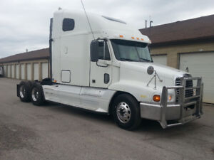 2008 FREIGHTLINER CENTURY, ORIGINAL LOW KMS, EXCELLENT BUY